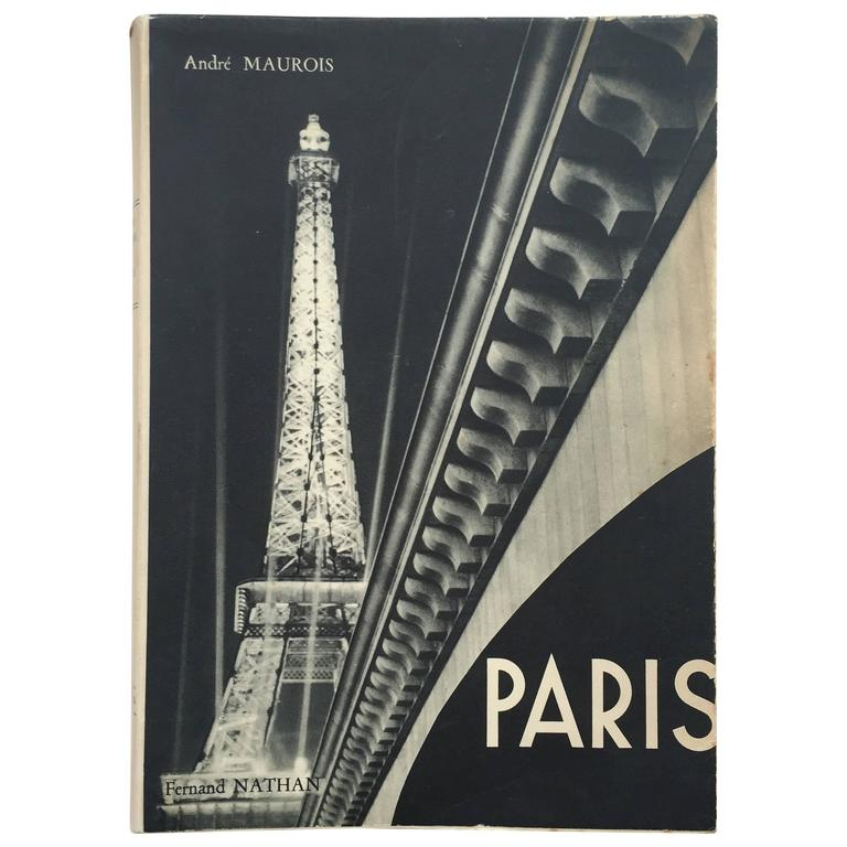 """André Maurois - Paris"" Book For Sale"