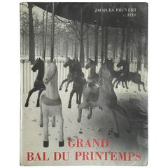 Jacques Prévert  – Grand Bal du Printemps 1st. ed. 1951