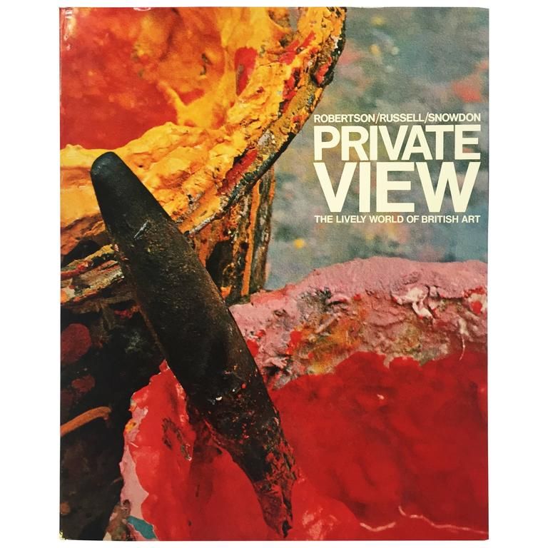 Robertson, Russell, Snowdon, Private View, the Lively World of British Art, 1965 For Sale