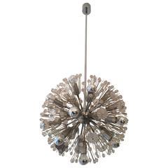 Stejnar Sputnik Snowball Crystal Chandelier