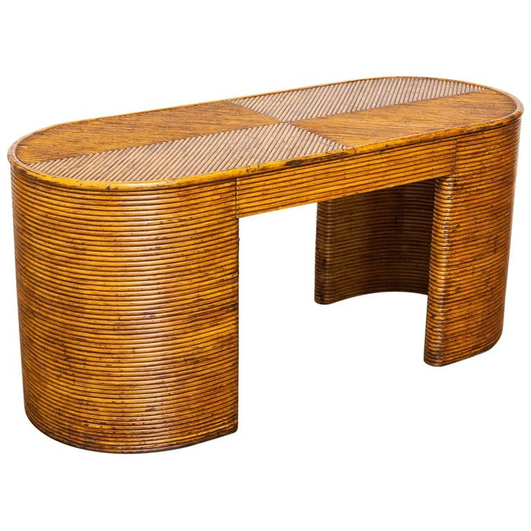crespi style french rattan art deco desk art deco desk computer