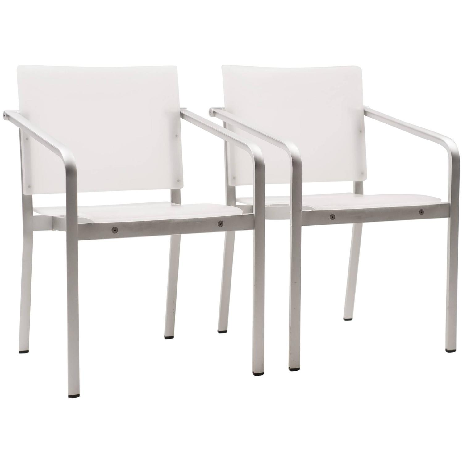 Pair Of Thonet Chairs By Sir Norman Foster, Model A 900 At 1stdibs