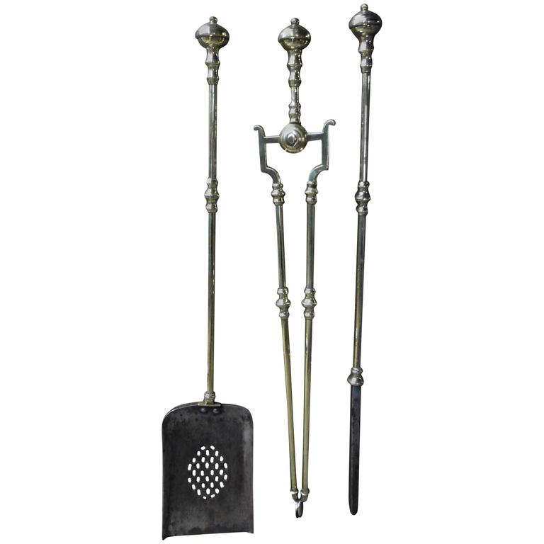 English Fireplace Tools or Fire Tools