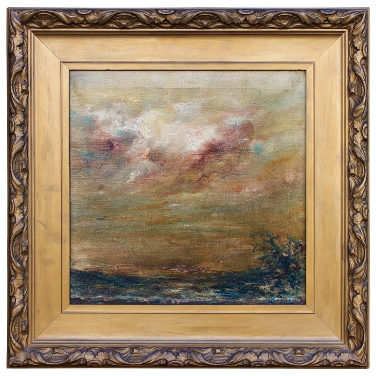 """""""Tempest Brewing"""" Study by Charles M. Lang For Sale"""