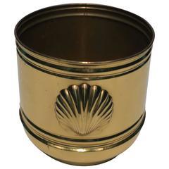 Vintage English Brass Cachepot, England