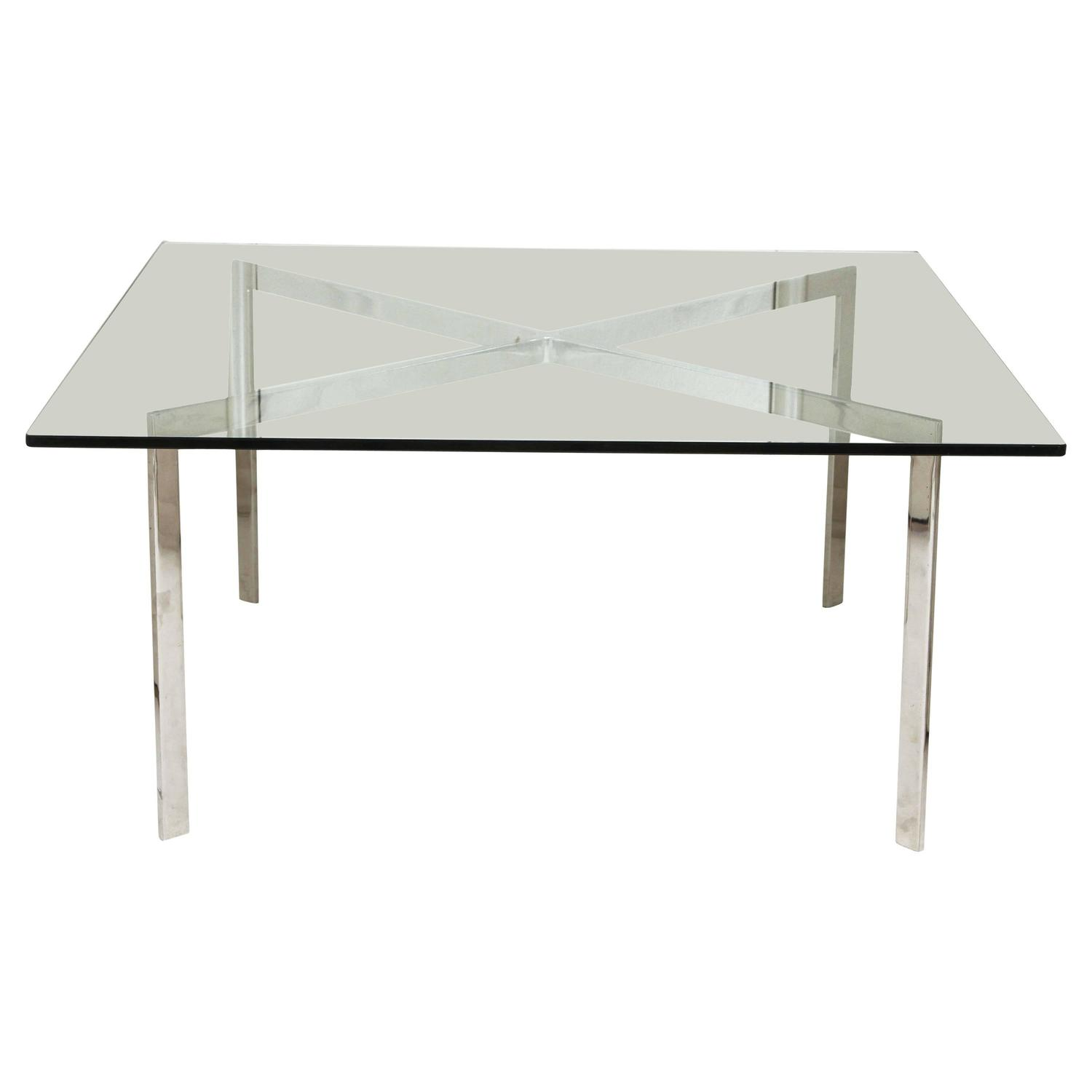 Knoll barcelona table i for sale at 1stdibs - Barcelona table knoll ...