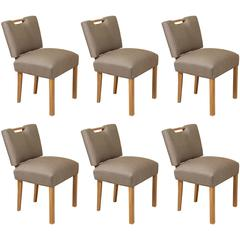 Six Paul Laszlo Dining Chairs