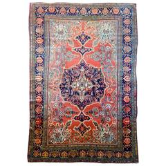 Incredible 19th Century Sarouk Farahan Rug