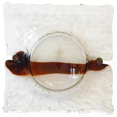 Murano Glass Sconce by Toni Zuccheri