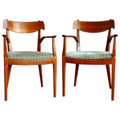 Pair of Declaration Armchairs by Kipp Stewart and Stuart Macdougall for Drexel