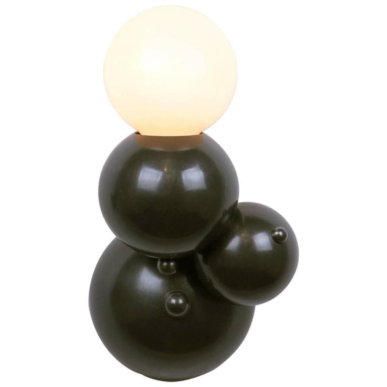 Bubbly 01-Light Wall, Modern Molecule Sculptural Sconce, Oil-Rubbed Bronze