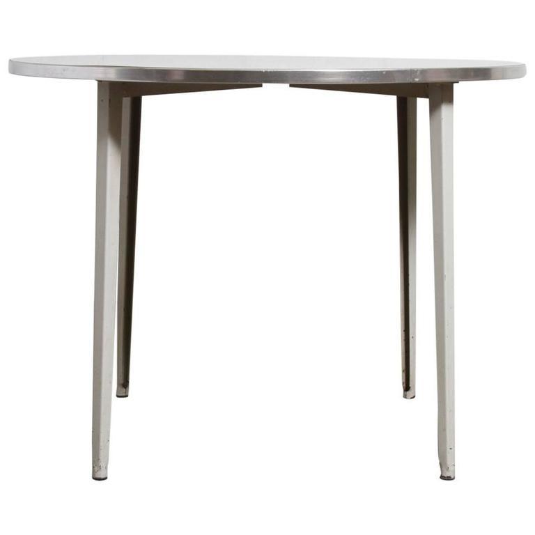 Friso kramer round reform industrial table for sale at 1stdibs - Kamer dining ...