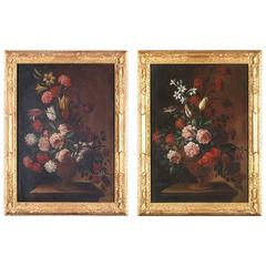 Pair of Italian Still Life Paintings, 17th-18th Century