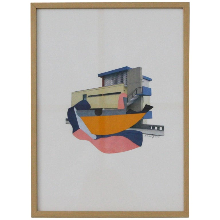 Collage by Brian de Graft For Sale