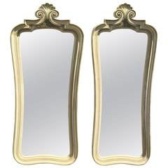 Pair of Shabby Chic Mirrors