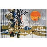 Rene Fumeron Aubusson Tapestry