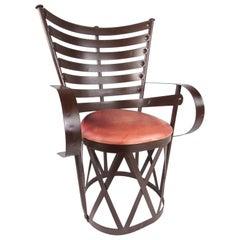 Decorative Modern Sculptural Armchair