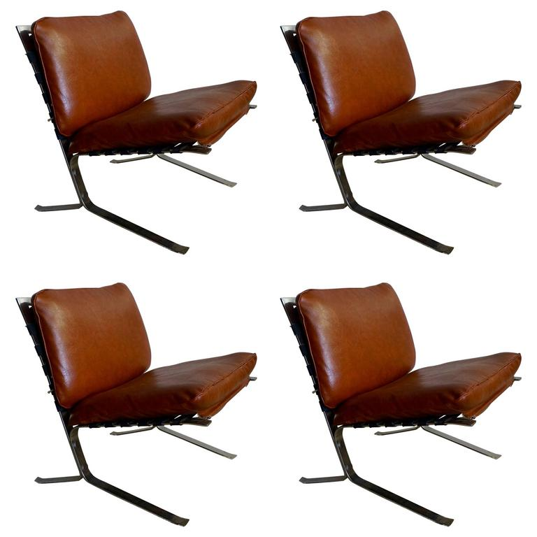Set of Four Olivier Mourgue Joker Chairs