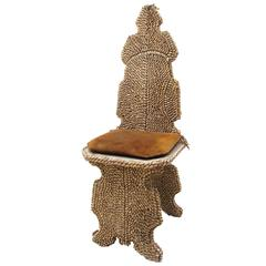 Seashell Encrusted Chair by Antony Redmile
