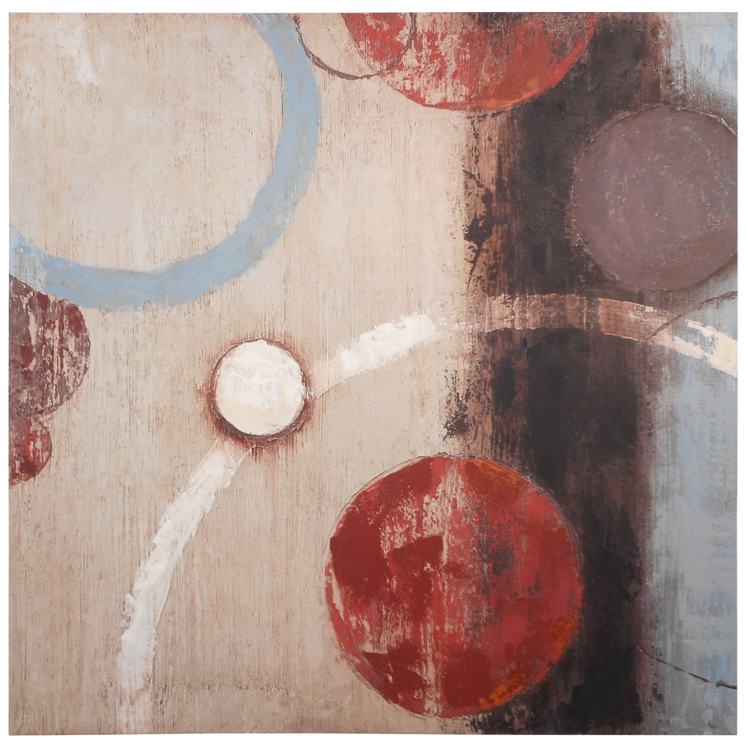 Mid-Century Modern Style Contemporary Painting