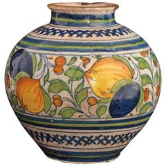16th Century Venise Majolica Vase or Bowl