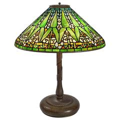 "Tiffany Studios New York ""Arrowroot"" Table Lamp"
