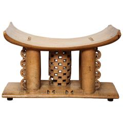 "Late 19th Century African ""Ashanti"" Stool"