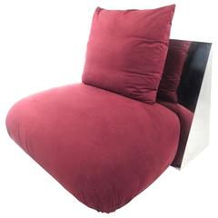 Modern Decorator Slipper Chair