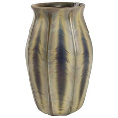 Tiffany Studios New York Agate Glass Vase