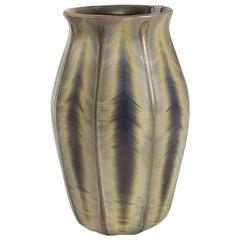 Tiffany Studios New York Agate Glass Vase