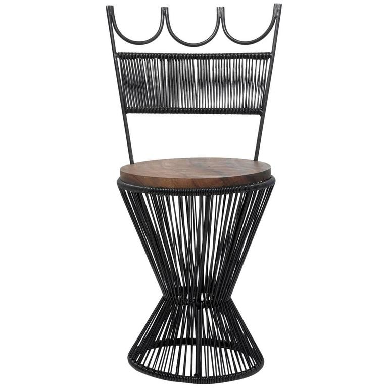 """Design Chess"" Queen Chair by Mexa in Black"