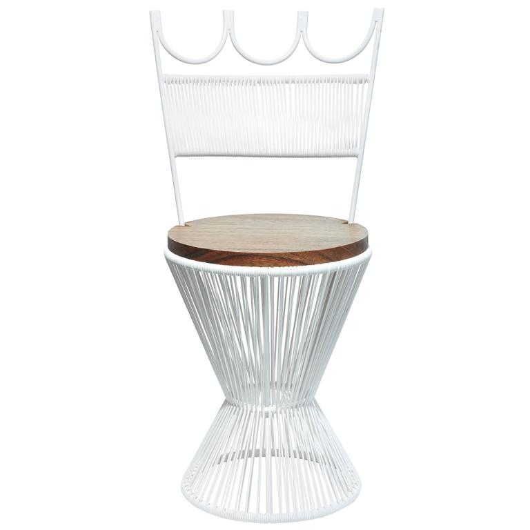 """Design Chess"" Queen Chair by Mexa in White"