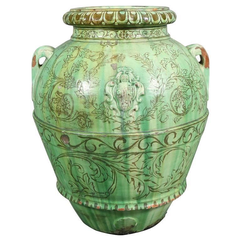 Pottery & China Italian Vintage Majolica Jardiniere