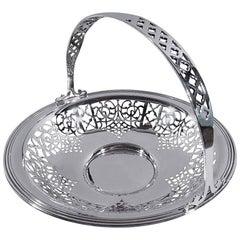 Gorham Edwardian Sterling Silver Basket