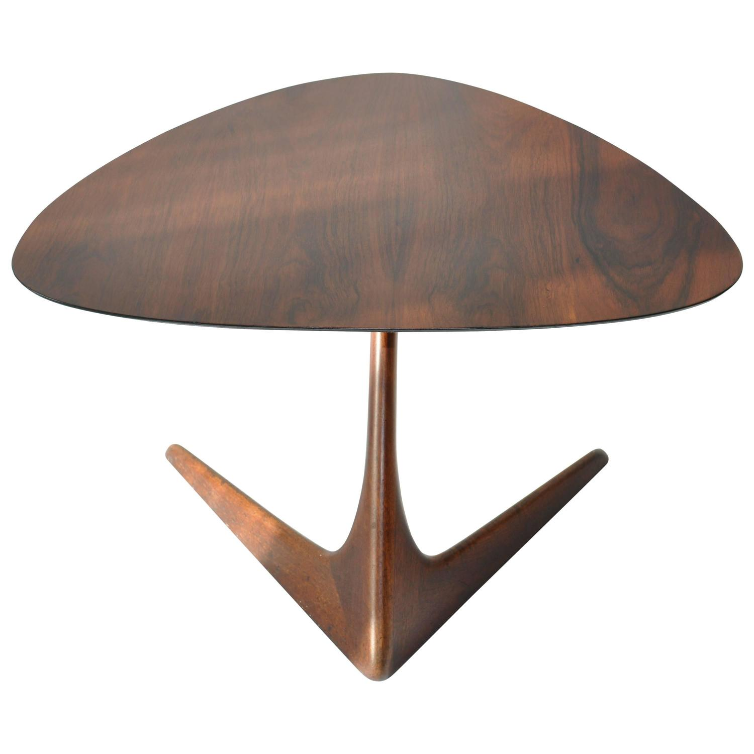 Rare Vladimir Kagan Side Table at 1stdibs