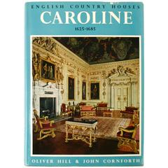 """English Country Houses Caroline 1625-1685"" First Edition Book"