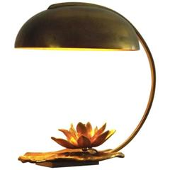 Wonderful Water Lilly Table Lamp by Maison Charles