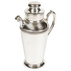 Vintage Silverplate Cocktail Shaker Pitcher