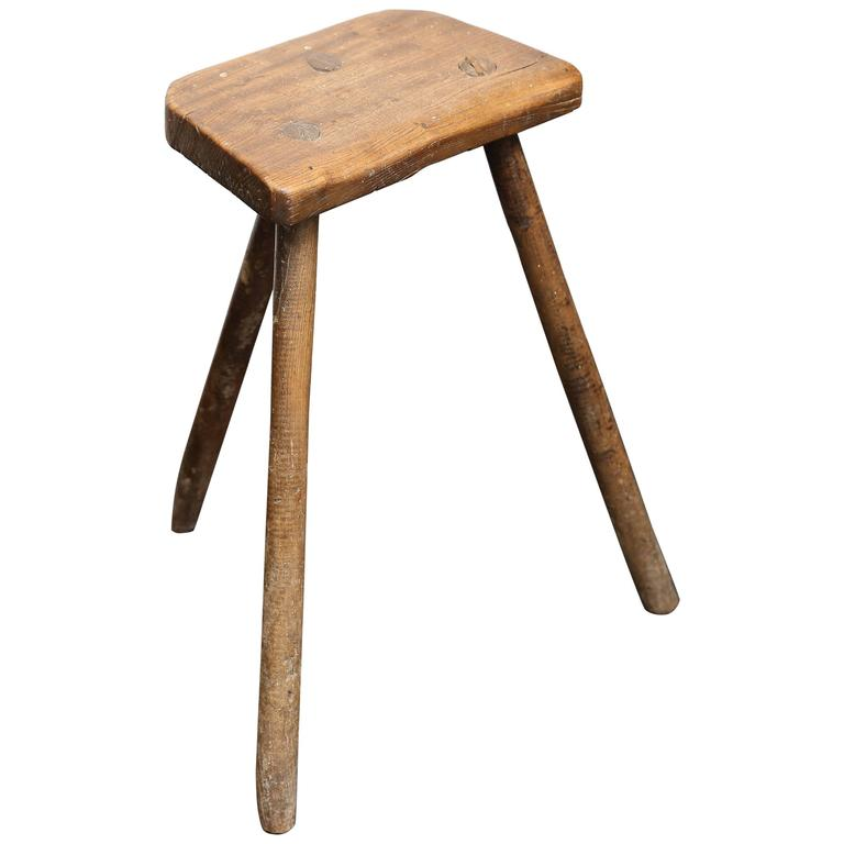 19th Century Cutler's Stool