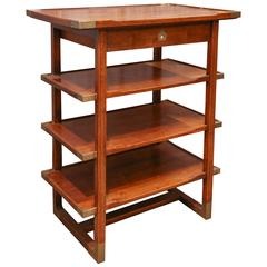 Multi Tiered Bedside Table from a ship