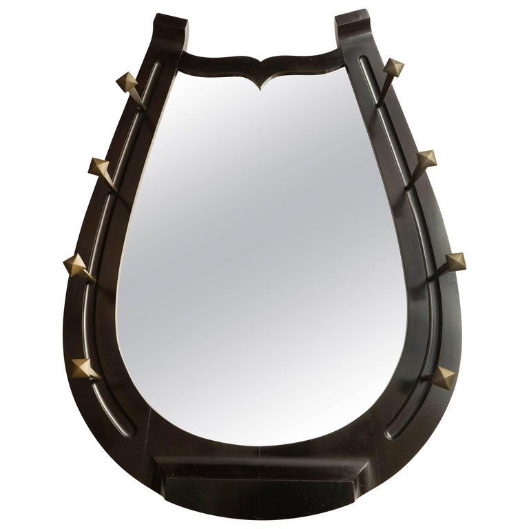unusual horseshoe mirror at 1stdibs round decorative mirrors large round wall mirrors unusual