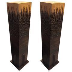 Mid-Century Modern Pedestals