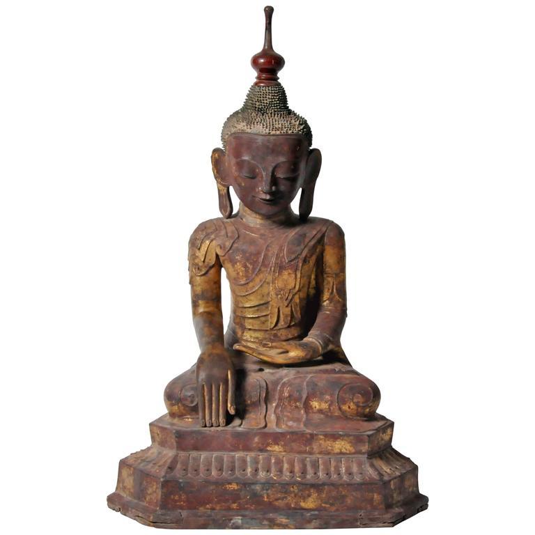 Shan Burmese Buddha Figure