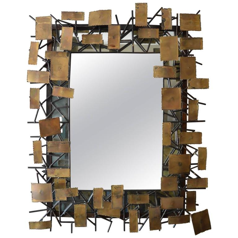Mirror in the Style of Curtis Jere