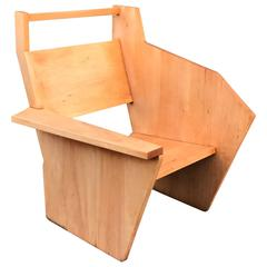 Bauhaus Style Constructivist Armchair