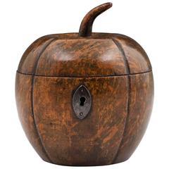 Antique Melon Tea Caddy