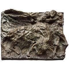 "Bronze Sculpture ""In the Arena"" by Magdalena Reinharez"