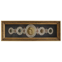 Victorian Lava Cameo Framed Collection
