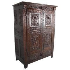 19th Century French Antique Armoire