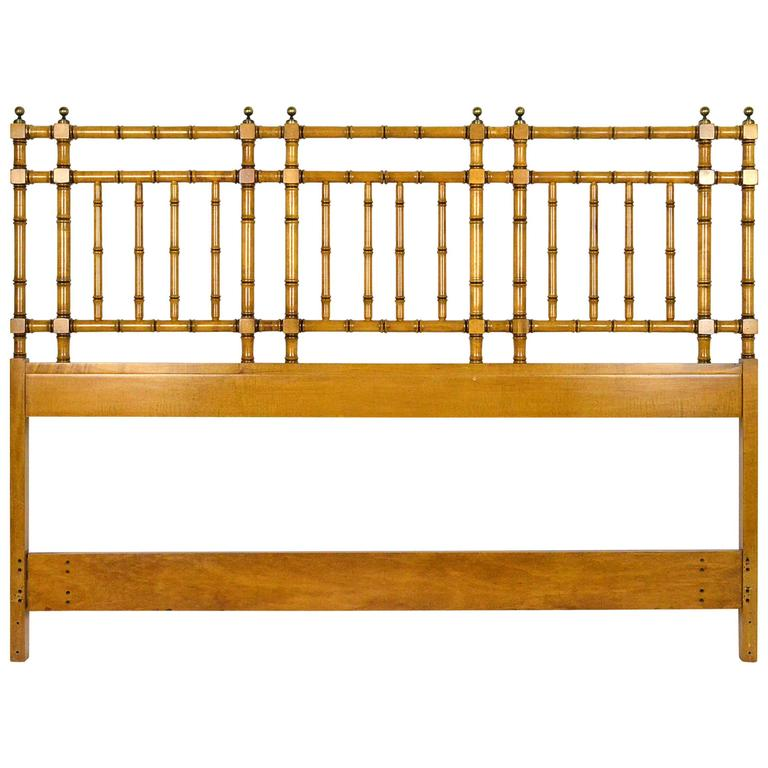 Faux Bamboo Headboard For Sale At 1stdibs